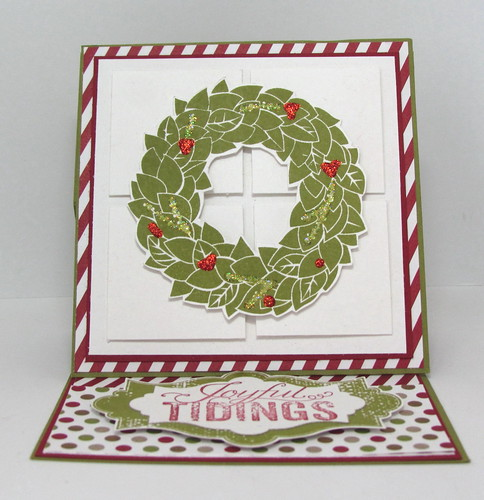 Joyous Tidings Wreath by Andrea G71