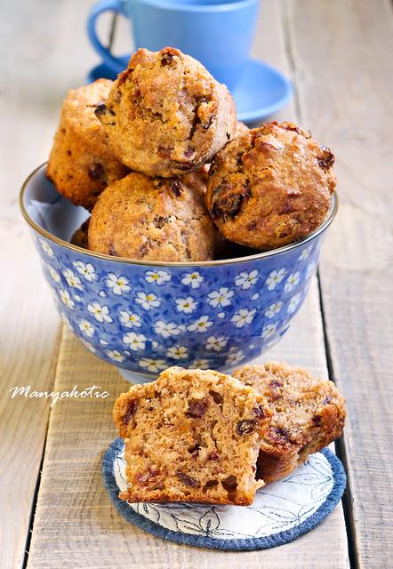 muesli and date muffins
