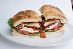 produce(0.0), breakfast sandwich(0.0), blt(1.0), sandwich(1.0), submarine sandwich(1.0), muffuletta(1.0), ciabatta(1.0), meat(1.0), food(1.0), dish(1.0), cuisine(1.0),