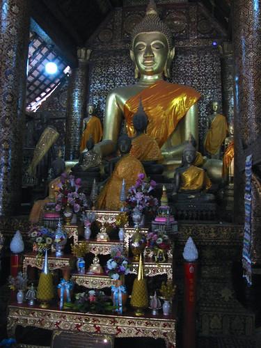 Buda principal del Wat Xieng Thong