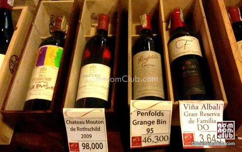 Chateau Mouton de Rothschild 2009 for Php 98,000!