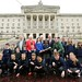 Glasgow 2014 Baton Relay arrives at Stormont, 20 May 2014