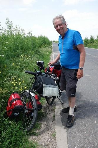 オランダ人サイクリスト