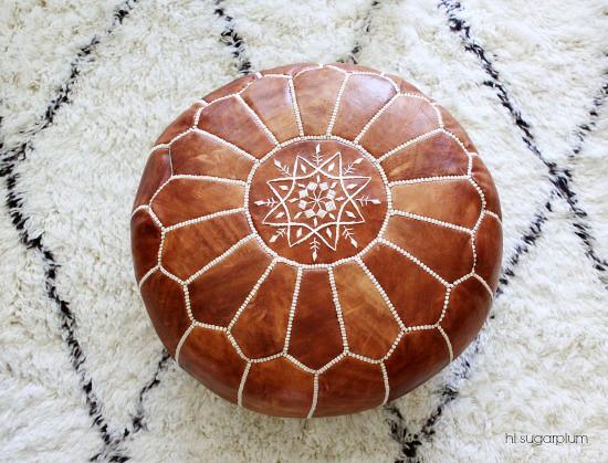 Hi Sugarplum | Moroccan Pouf