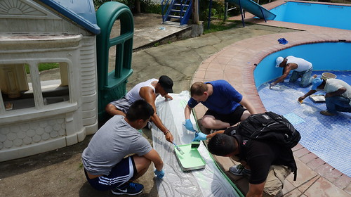 USS Ingraham Sailors Volunteer at Orphanage in Panama