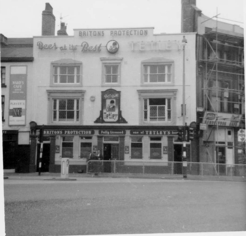 (2) 3 Britons Protection Hotel, Gt Bridgewater Street, Manchester, Nov 1971