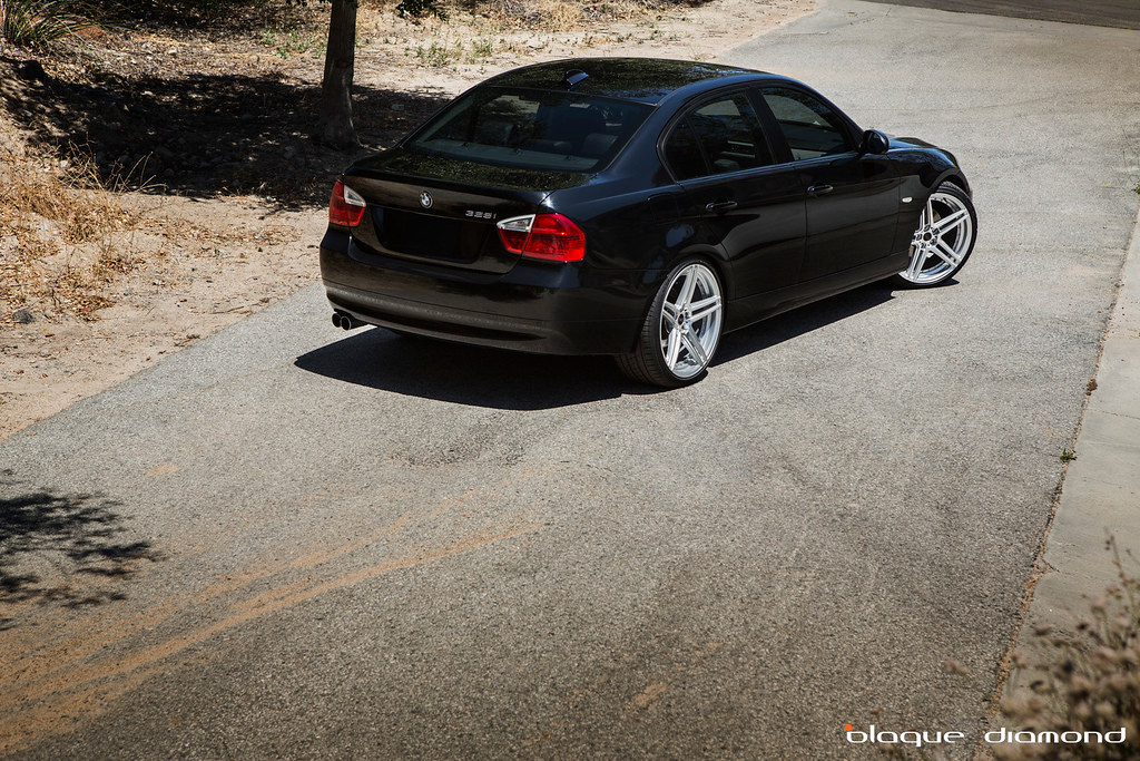 Blaque diamond wheels e90 328i on bd 6s bimmerfest bmw forums the car 2008 bmw 328i the wheel bd 6 size 20x85 front 20x10 rear offset 35mm front 38mm rear color silver with polished face sciox Image collections