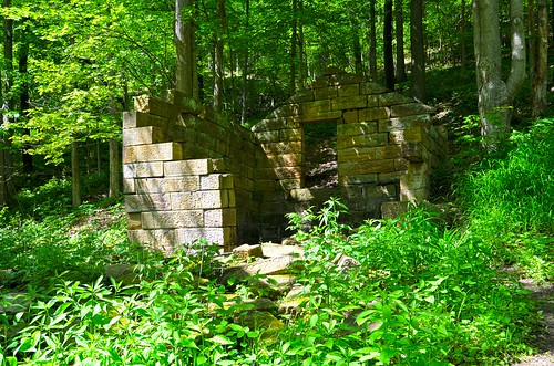 Two Story Stone Springhouse from 1846