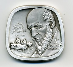 Rabbi Jacob Frankel medal