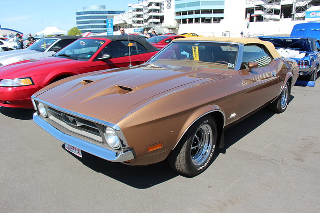 Photo:1971 Ford Mustang Convertible By Sicnag