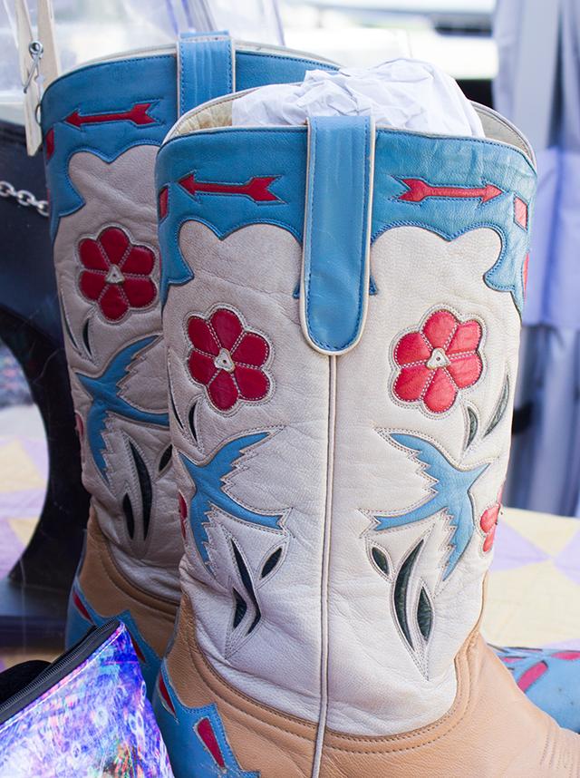 bluebird pastel cowboy boots