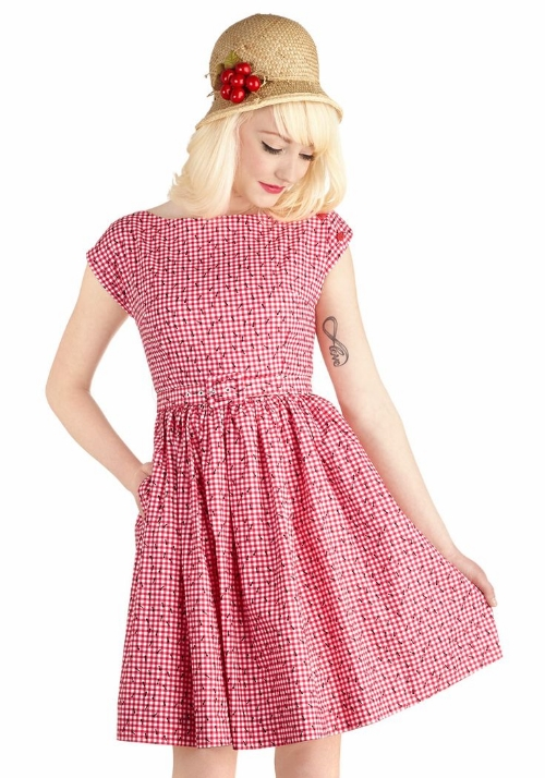 Modcloth No Ifs, Ants, or Buts Dress