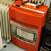 Red gas heater