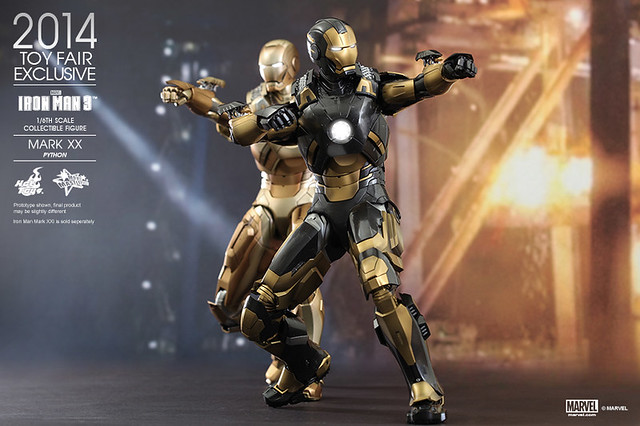 Hot Toys - Iron Man 3 - Python (Mark XX) Collectible Figure_PR11