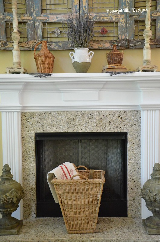 French Country Mantel