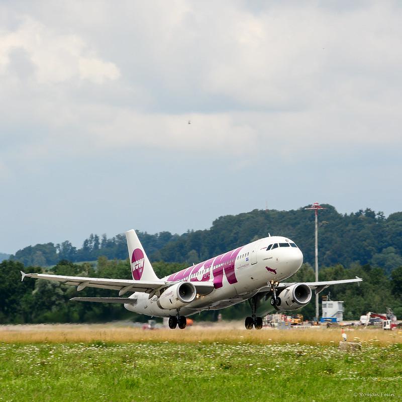 Wow! A320.
