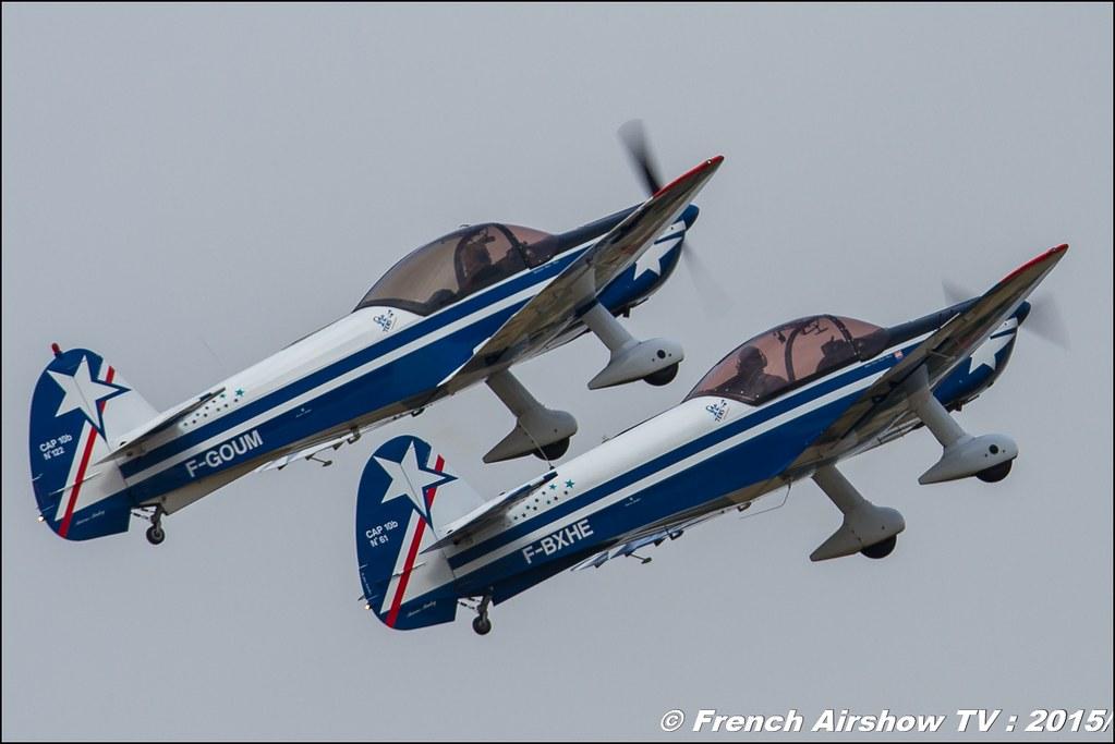 Patrouille Cap tens , CAPTENS, Cap10 show,, Fly in LFBK 2015 - Fly in Saint Yan 2015, Meeting Aerien 2015