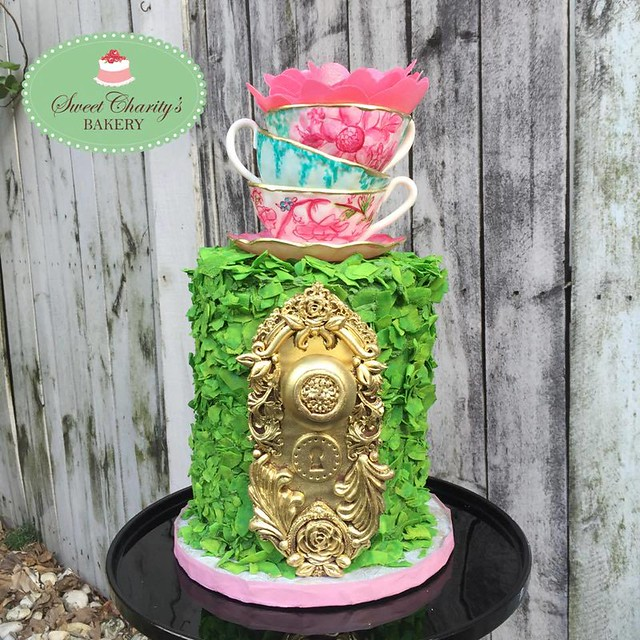Secret Garden Cake by Sweet Charity's Bakery