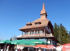 Harder Kulm Restaurant from the Terrace