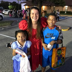 I remember when this young lady was my kid's age! Good to see you @tortorthegreat ! #TrunkOrTreat #TVC #MsTori #TVC