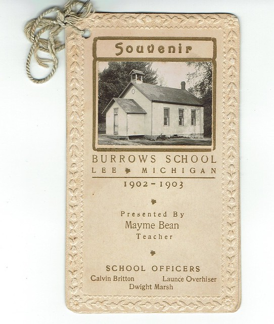 Burrows School 1902-3