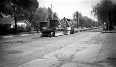 205 PERY Oak Knoll Line Removing Rail Lake & Oakwood 19520610 AKW