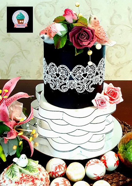 Cake by Muneeza Khan of Sugar Dust