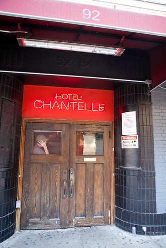 Entrance to Hotel Chantelle