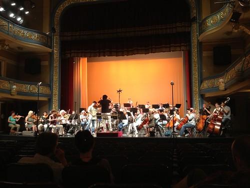 Rehearsal Ning Feng Sarajevo Philharmonic