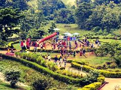 A snap at biju patnaik children park (Ghai).