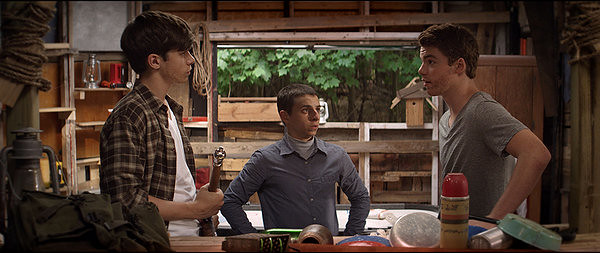 Nick Robinson, Moises Arias and Gabriel Basso are THE KINGS OF SUMMER.