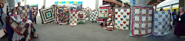 panoramic quilt flashmob by lusty