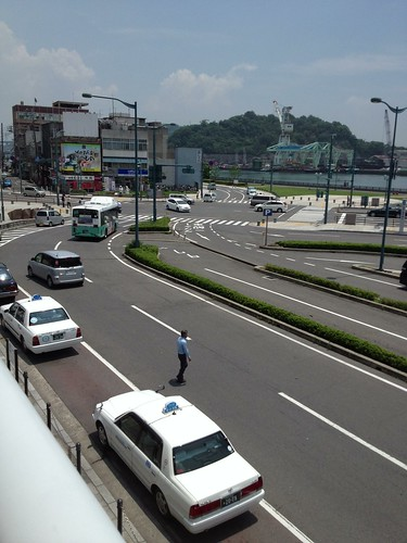 尾道駅前 by haruhiko_iyota