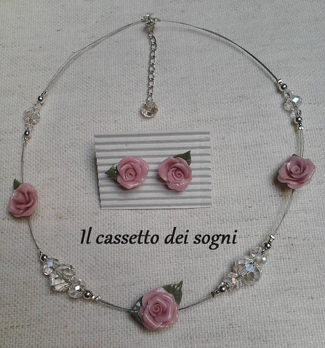 parure rosa. by Il cassetto dei sogni