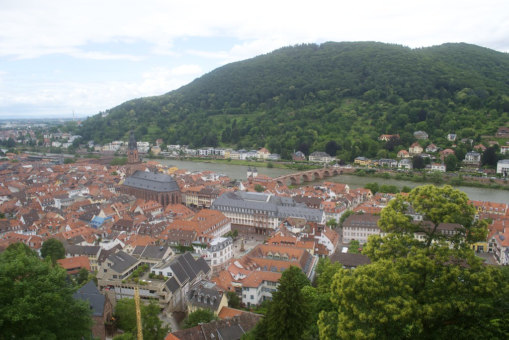 View from the Heidelberg Castle