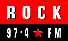 Rock FM sticker