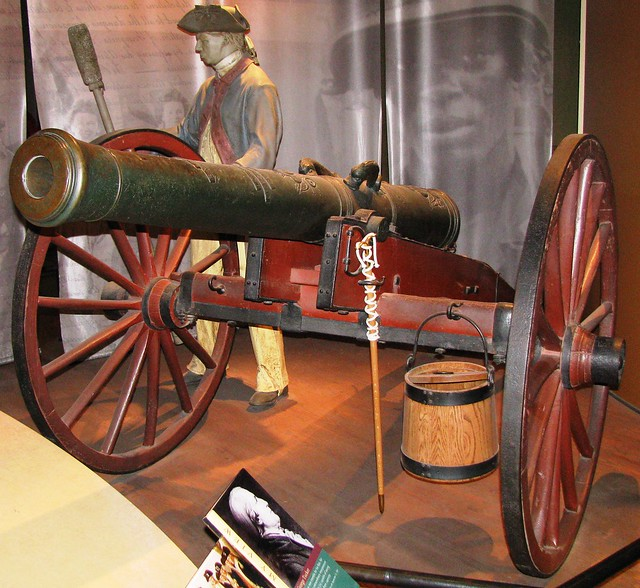 NMAH028 - American War of Independence (1775-1783) - French - 4 Pound Cannon - 1751
