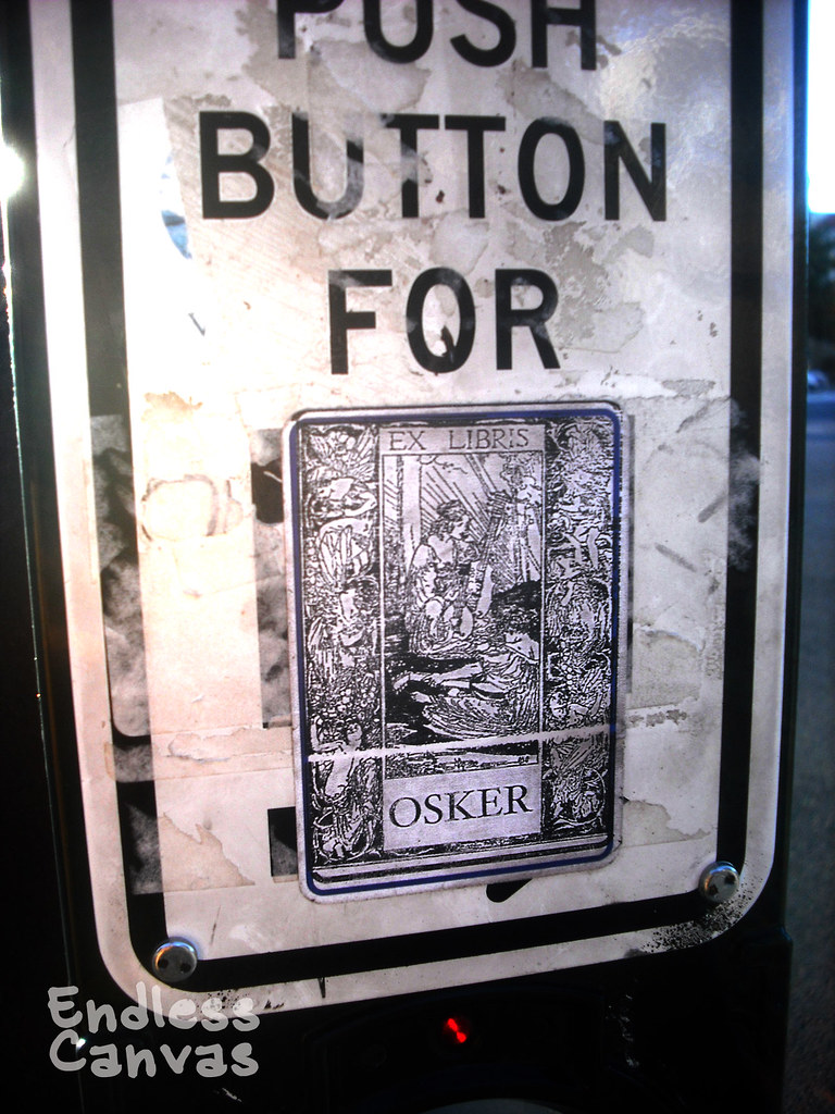 OSKER sticker - Oakland, Ca