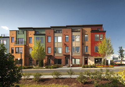 EYA Townhomes at Mosaic District Fairfax VA