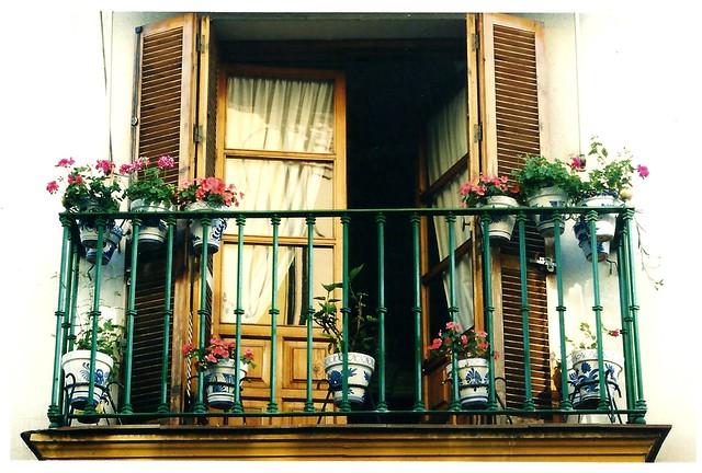 Balcony in Barcelona
