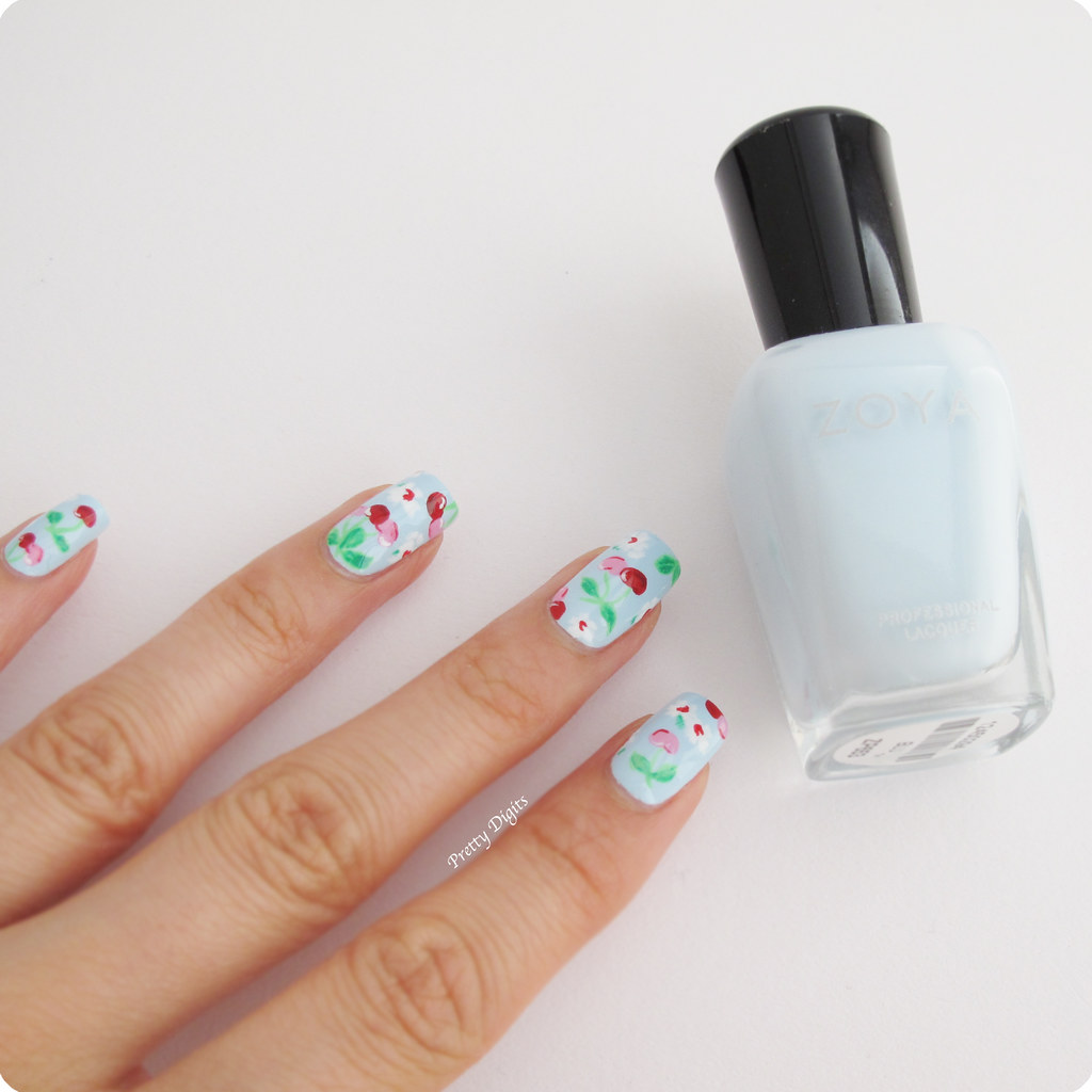 Nail Arts By Rozemist Cath Kidston Vintage Inspired: Pretty Digits: Cath Kidston Inspired Nails