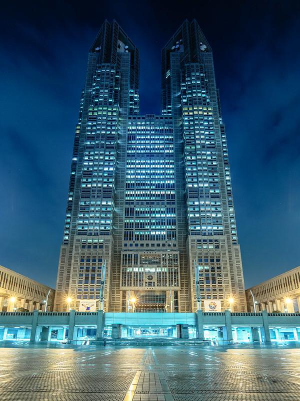 新宿都庁。
