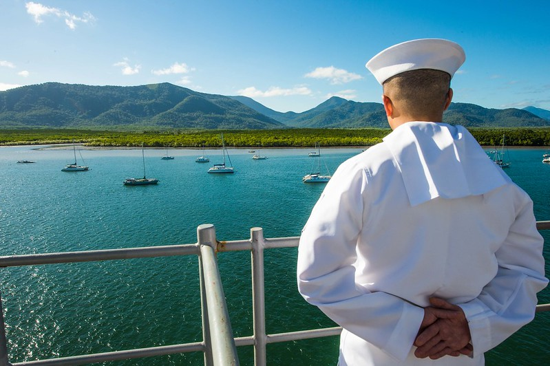 USS Germantown Visits Cairns, Australia