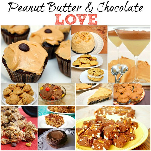 Recipe Roundup! Peanut Butter & Chocolate Love