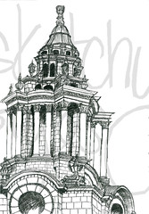 London Sketch by sketchystyles.com