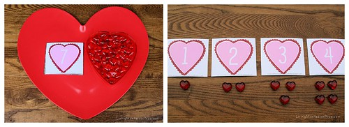 Valentine Cards and Counters