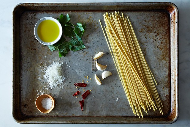 Spaghetti agl'olio from Food52