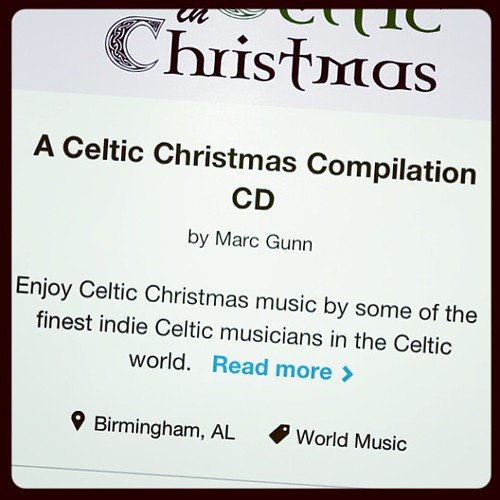 I know it's a little early to be thinking about Christmas, but if I'm gonna adequately promote a Celtic Christmas album, I need to get the word out now and raise money thru kickstarter. Check it out at http://celticmusicpodcast.com/kickstarter