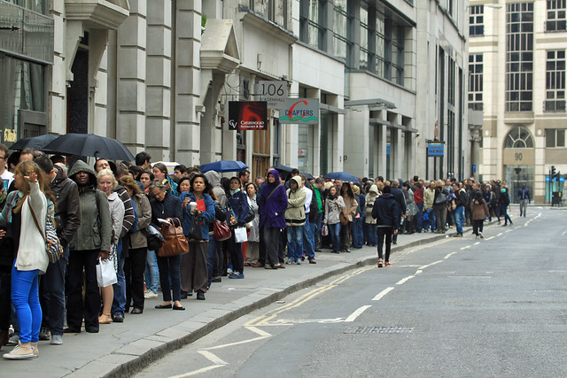 LONDON OPEN HOUSE QUEUES