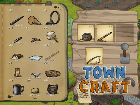 TownCraft - Crafting Process